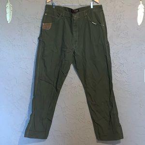 Wrangler Riggs Rip Stop Cargo Pants Men's 42x34